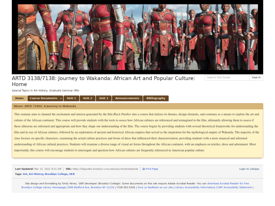 screenshot of site, link to site.