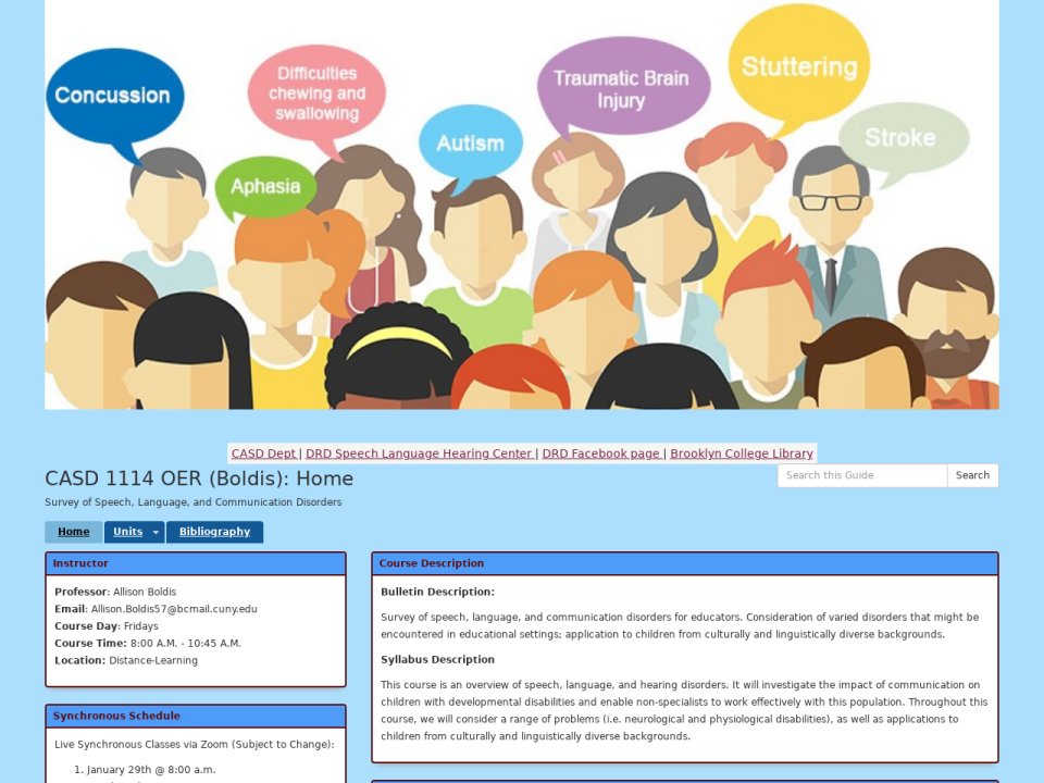 click to go to CASD 1114 OER (Boldis) homepage.