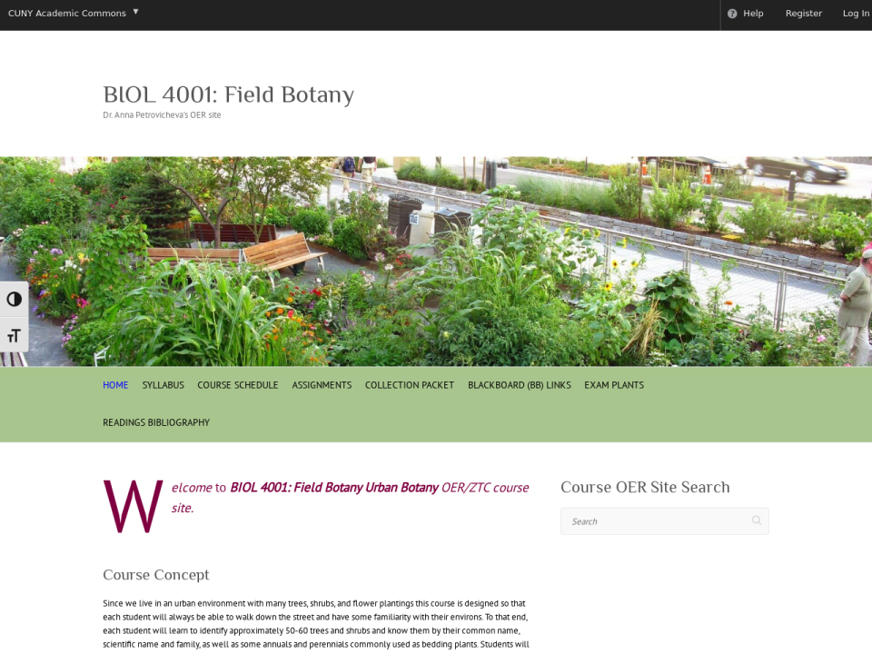 Go to BIOL 4001 homepage.