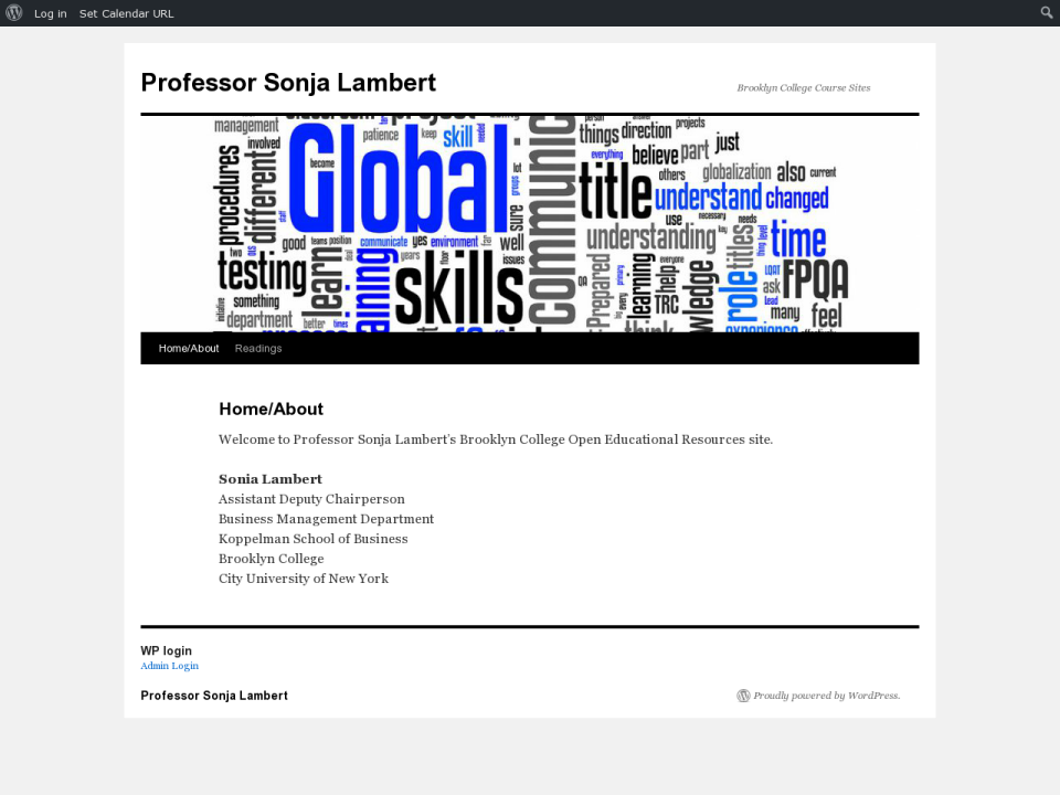 Clicking will take you to Prof. Lambert's OER homepage.